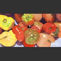 "Farm Stand Tomatoes - 16""x23"""